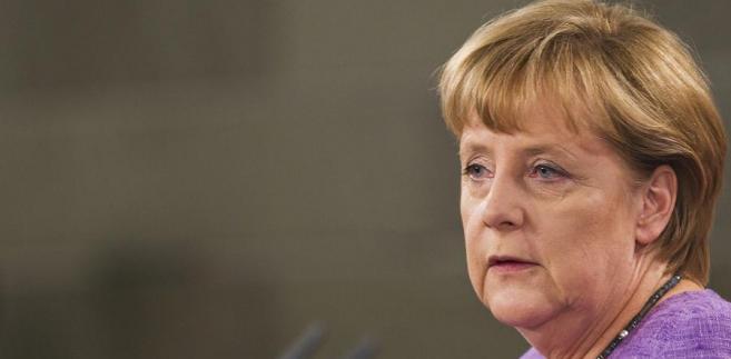 Angela Merkel zawiedzie Greków.